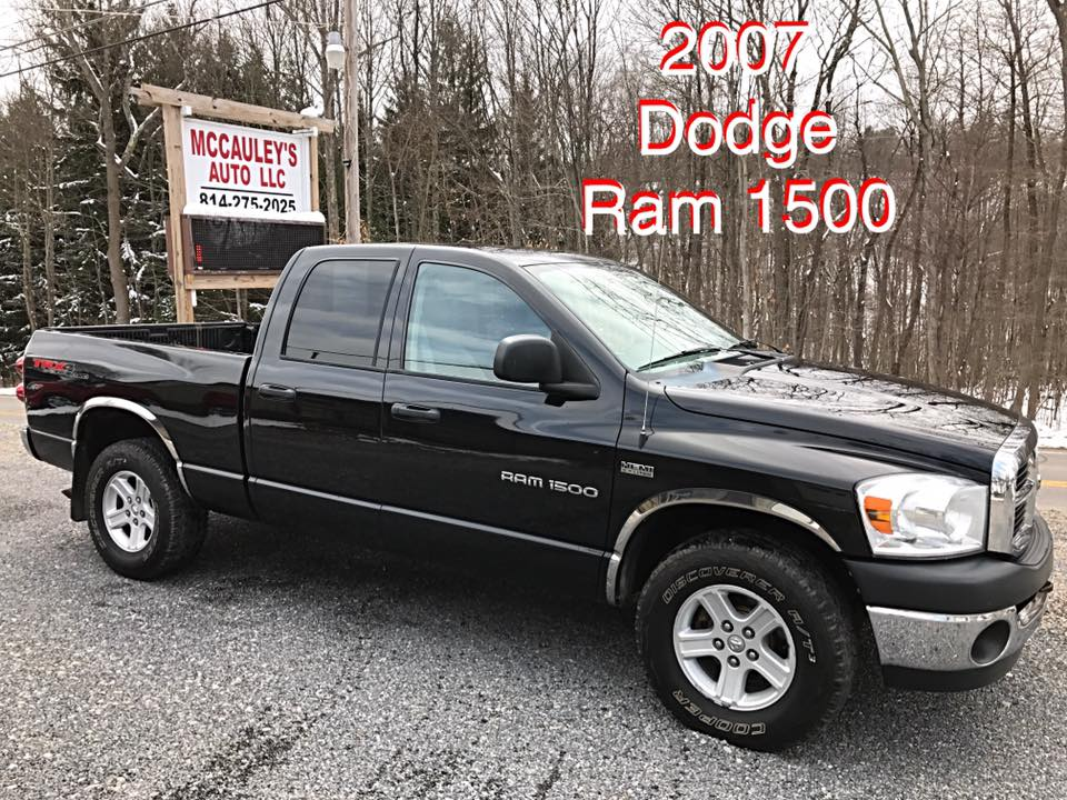 2007 dodge ram mccauley 39 s auto used cars trucks suv 39 s. Black Bedroom Furniture Sets. Home Design Ideas