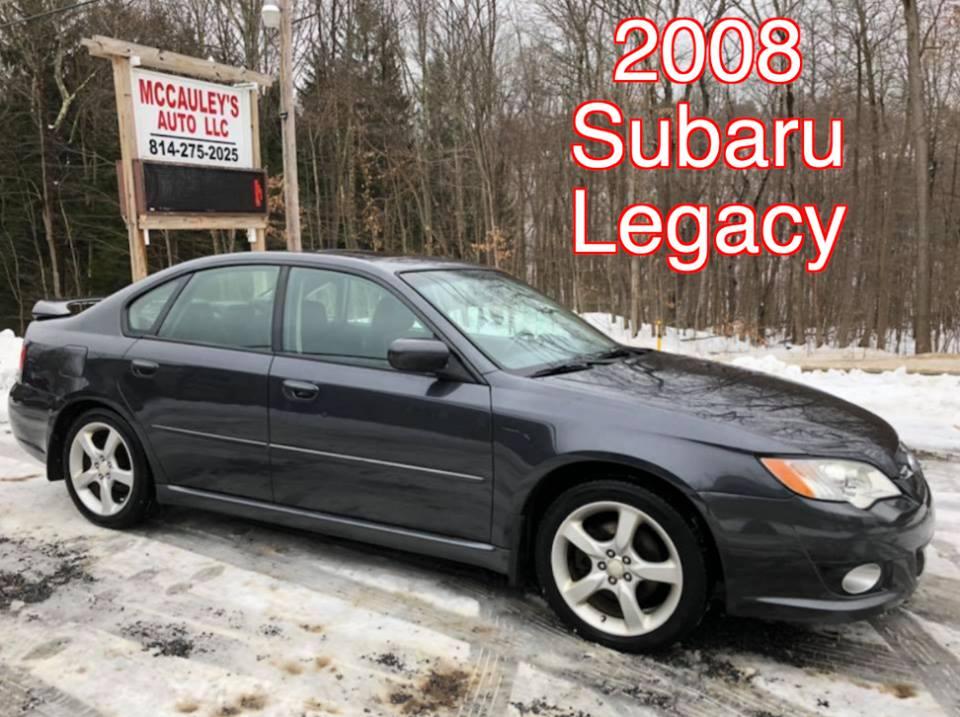 2008 Subaru Legacy Mccauleys Auto Used Cars Trucks Suvs