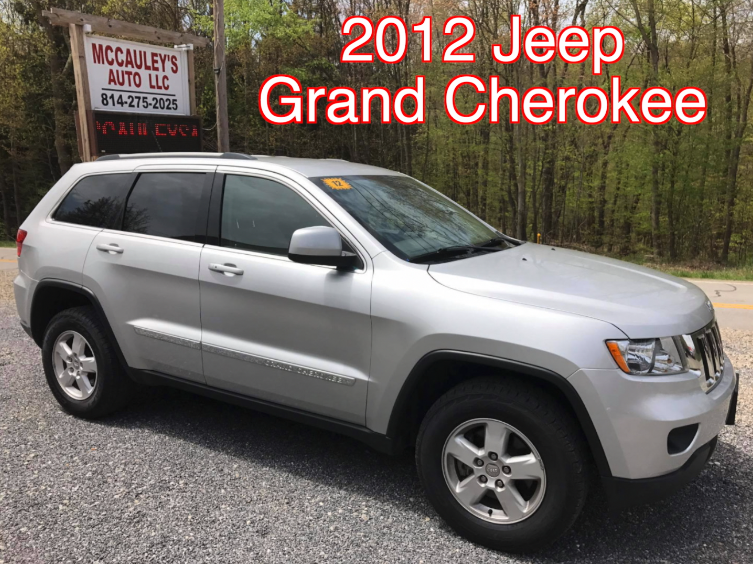 2012 Jeep Grand Cherokee Laredo Mileage: 76,398. Transmission: Automatic  Inspection: 5/18. VIN: 1C4RJFAG5CC304852 ONLY $15,995