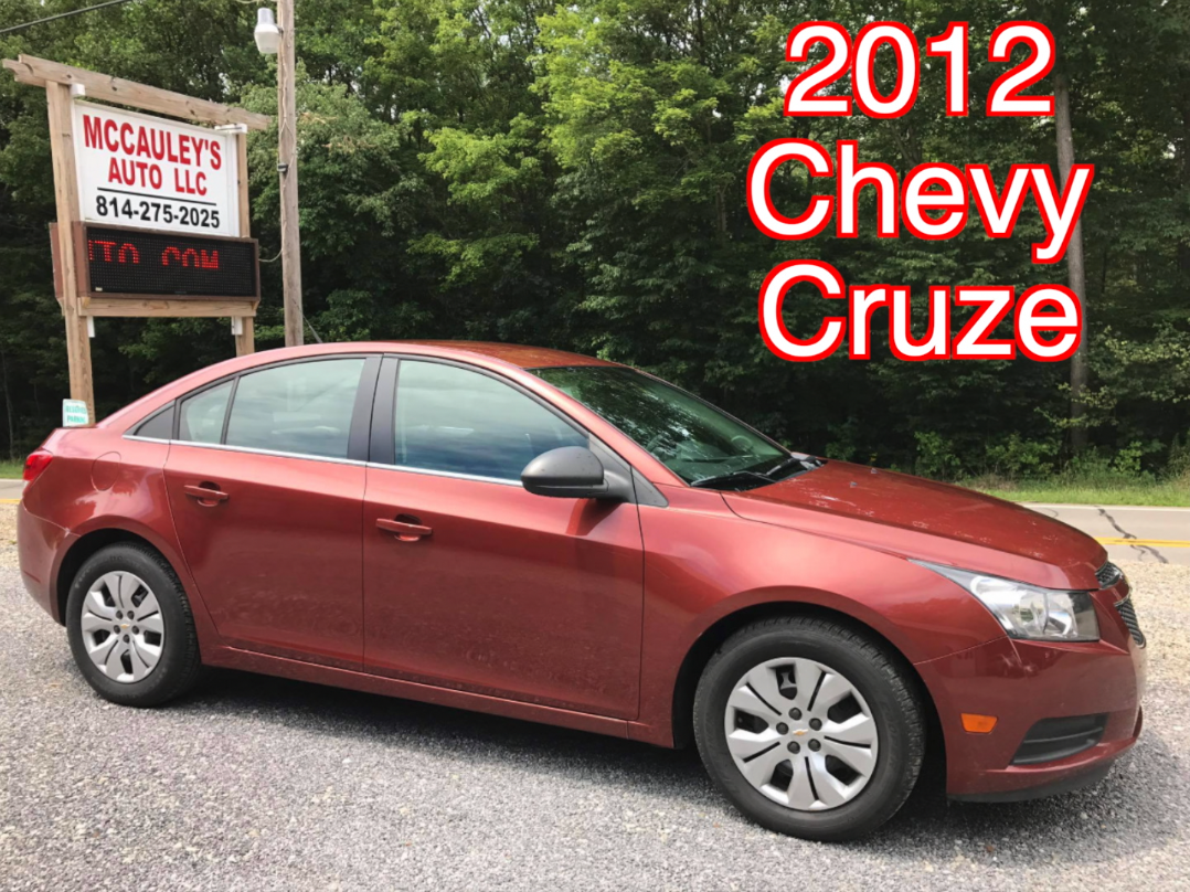 All Chevy 2012 chevy cars : 2012 Chevy Cruze - McCauley's Auto - Used Cars, Trucks, & SUV's